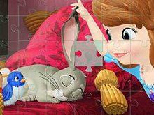 Sofia And Animals Jigsaw Puzzle