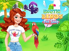 Exotic Birds Pet Shop