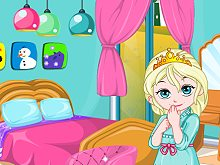 Baby Elsa Room Decoration