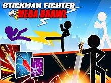 Stickman Fighter : Mega Brawl