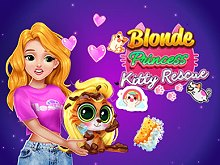 Blonde Princess Kitty Rescue