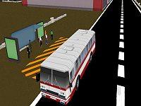 Park it 3D: City Bus