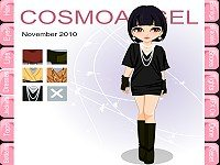 Cover Model Dress Up: November