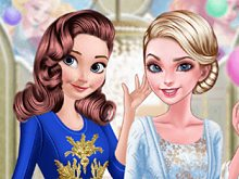 Anna And Elsa Arendelle Ball