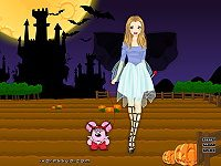 Girl in Halloween