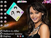Rihanna Makeover 2