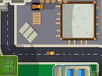 Cement Truck Parking