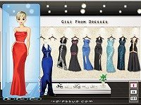 Gigi Prom Dressup