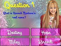 Hannah Montana Trivia