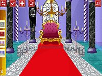 Castles Throne Room Decoration