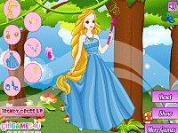 A Beautiful Princess Dress Up