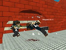 Blocky Combat Swat 3