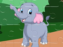 Sweet Elephants Jigsaw