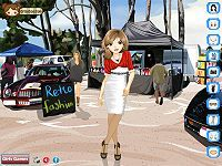 Retro Fashion Styling Game