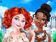 Outcast Princesses Beauty Makeover