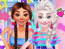 Princesses Neon Fashion