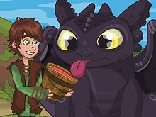 Toothless Lunch Surprise