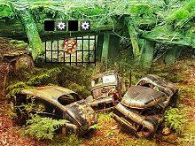 Abandoned Car Warehouse
