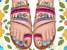 Design My Beach Pedicure!