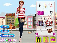 Stylish Fashionista Dress Up