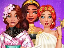 Princesses Ancient vs Modern Looks