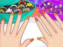 Beauty Nail Salon Minigamescom - cozy home decor games