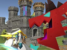 Blocky Fantasy Battle Simulator