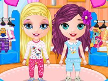 Baby Barbie PJ Party