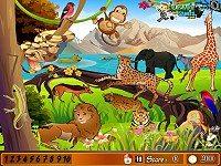Animal Park Hidden Number