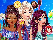 Princesses Summer Braids