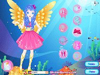 Blue Lake Fairy Dress Up