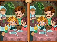 Hansel and Gretel, find the differences
