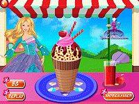Barbie Ice Cream Party