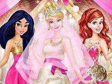 Princess Pink & Gold Wedding