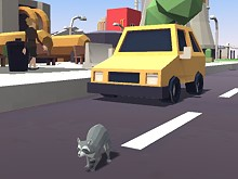 Raccoon Adventure: City Simulator 3D