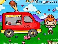 Katies Ice cream Van Play Set Fun