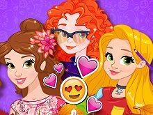 Princesses Fall Style