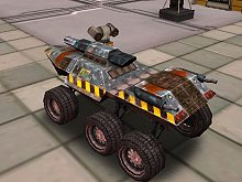 Space Moon Rover Parking