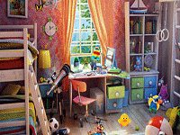 Hidden Objects Colourful Bedroom
