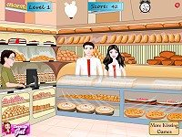 Bakery Shop Kissing
