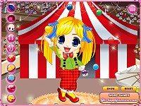 Acrobat Circus Girl Dress Up