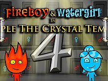 Fireboy & Watergirl 4: Crystal Tempel