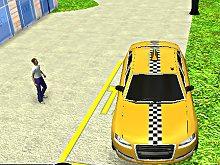 Taxi Driver webgl