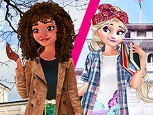 Princesses Exchange Students