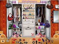 Nelly's Cluttered Dressing Room