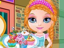 Baby Barbie Little Pony Cupcakes