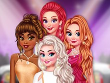 Princesses Evening On Red Carpet