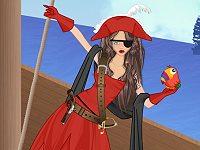 Pirate girl creator game