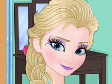 Now and Then Ice Princess Make Up