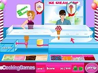 Ice Cream Shop Management